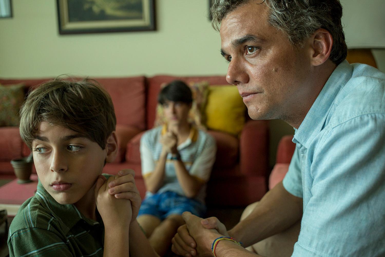 Sergio mit seinen beiden Söhnen in Rio