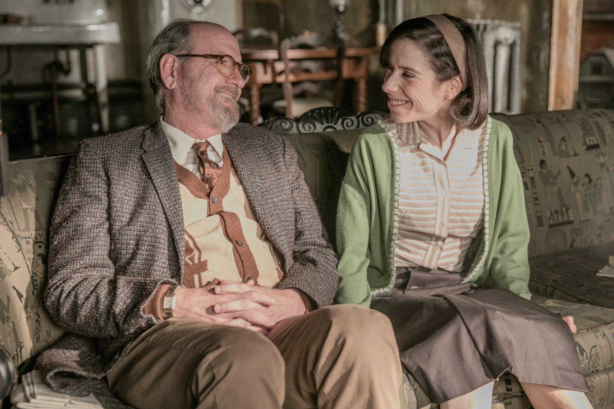 Sally Hawkins (Elisa) und Richard Jenkins amüsieren sich