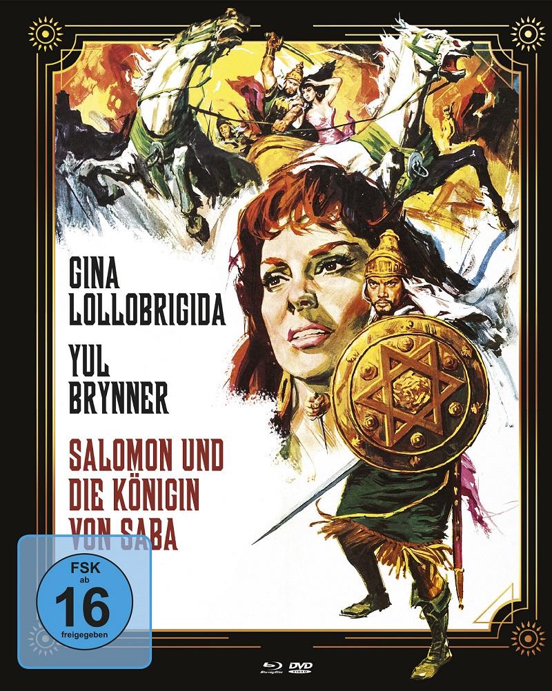 Salomon und die Königin von Saba Mediabook Cover A © Koch Films