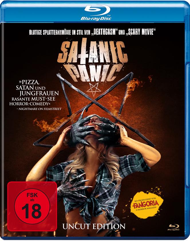 Front-Covermotiv der Blu-ray zu Satanic Panic
