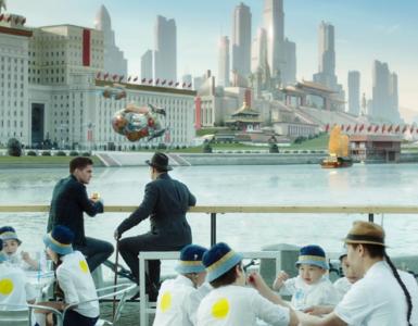 Kyrill sitzt an der Promeda der Krim in einem alternativen Moskau im Steampunk-Look - Neu bei Prime im Mai 2020