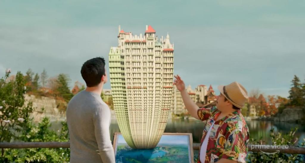Nathan stellt mit dem Designer sein Traumhaus an einem holographischen Panel zusammen - Neu bei Prime im Mai 2020