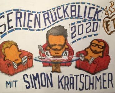 Auf dem Bild sind die Teilnehmer Jan, Simon und Patrick als Toastscheiben dargestellt und sitzen dabei in Sesseln um einen Tisch, auf dem ein Mikro steht.