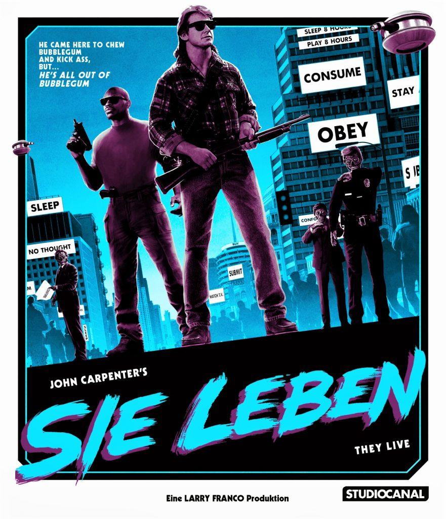 Das offizielle Cover von John Carpenters Sie Leben. © Studiocanal Home Entertainment