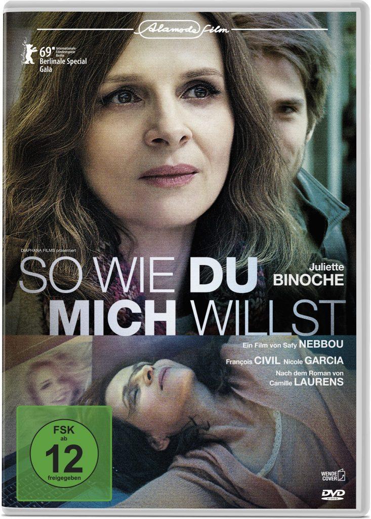 Das Cover der deutschen DVD von So wie du mich willst