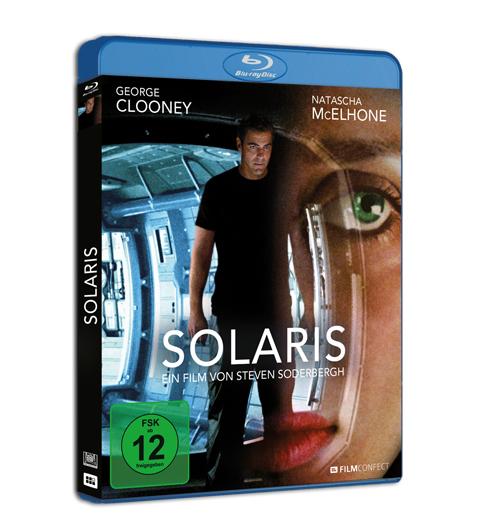Das Blu-Ray Cover von Solaris. © 2018 FilmConfect Home Entertainment GmbH