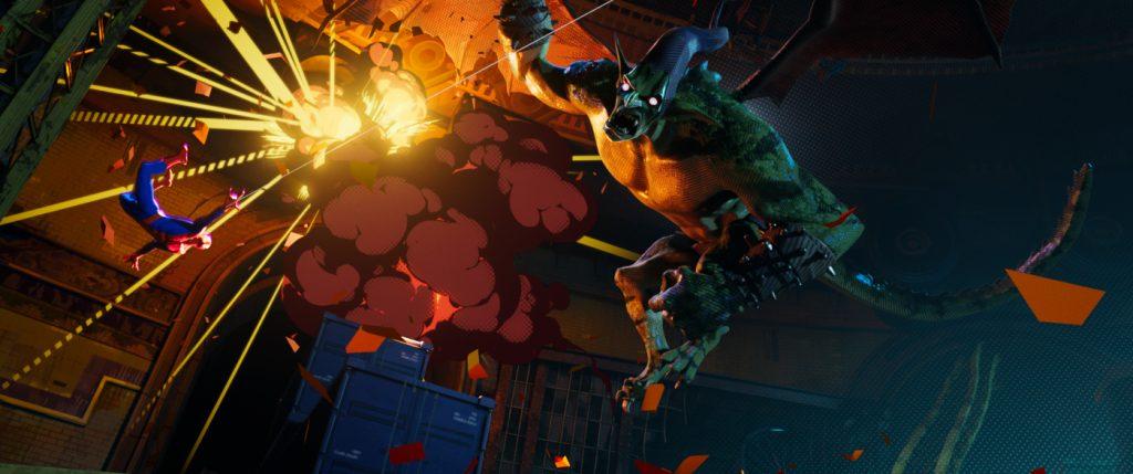 Kampf gegen den Green Goblin. Copyright Sony Pictures