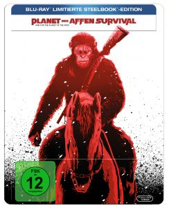 Steelbook-Cover von Planet der Affen