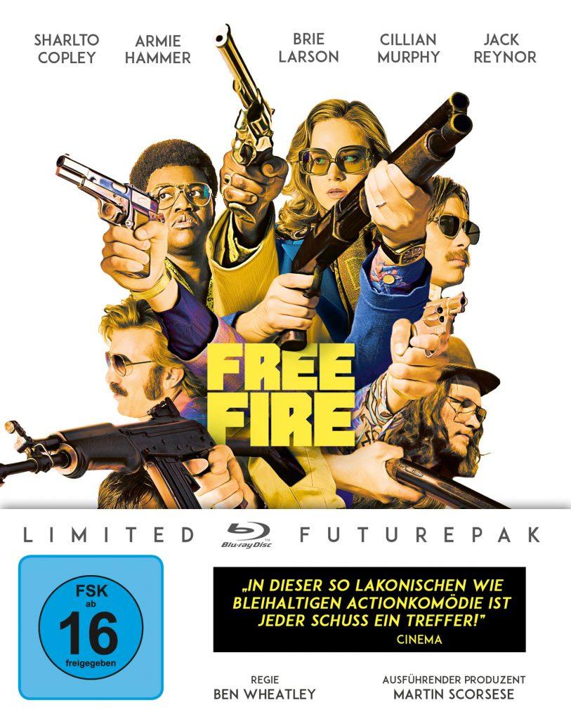 Steelbook Cover zu Free Fire