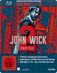 Steelbook-Cover zu John Wick - Kapitel 2 aus 2017