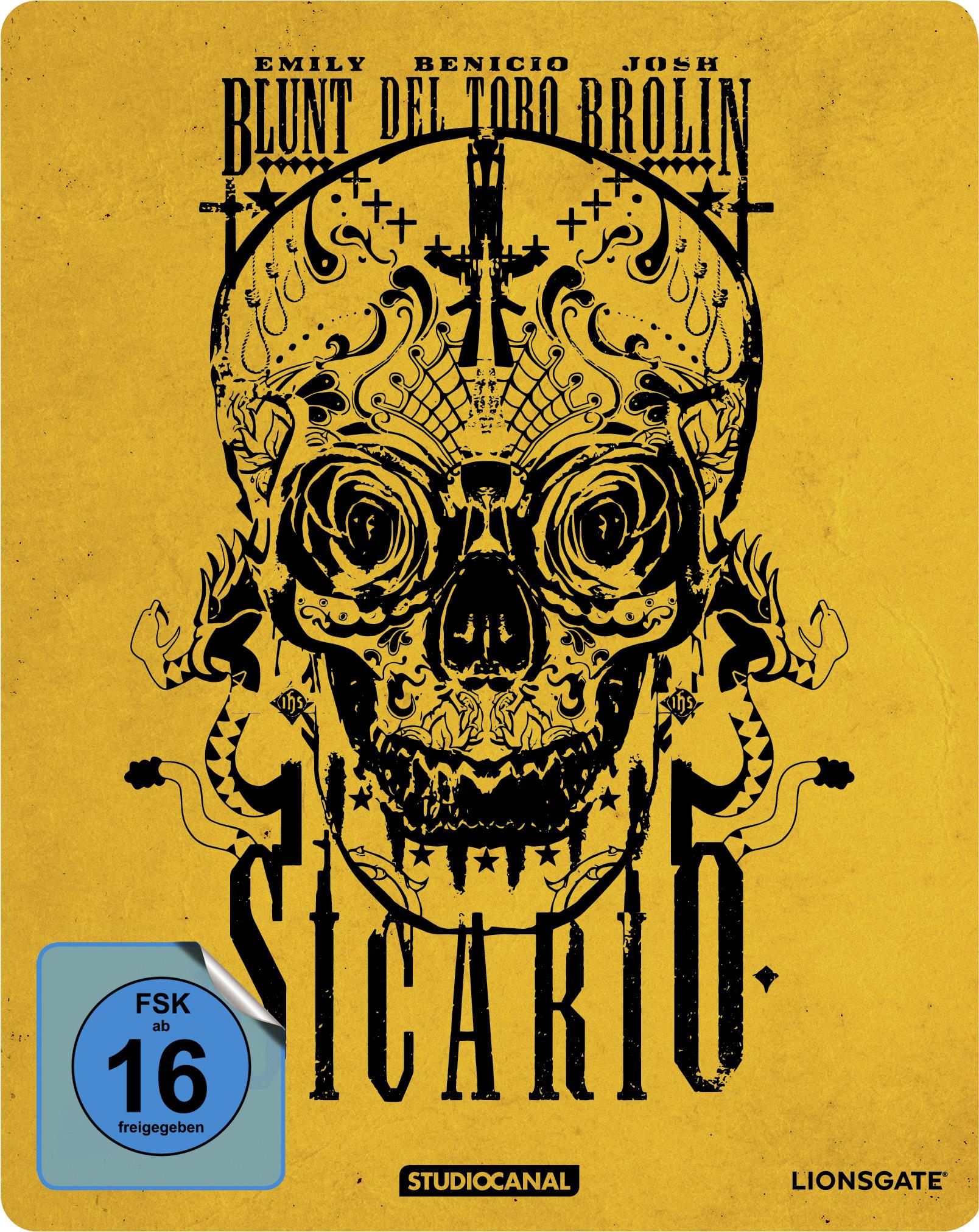 Steelbook-Cover zu Sicario