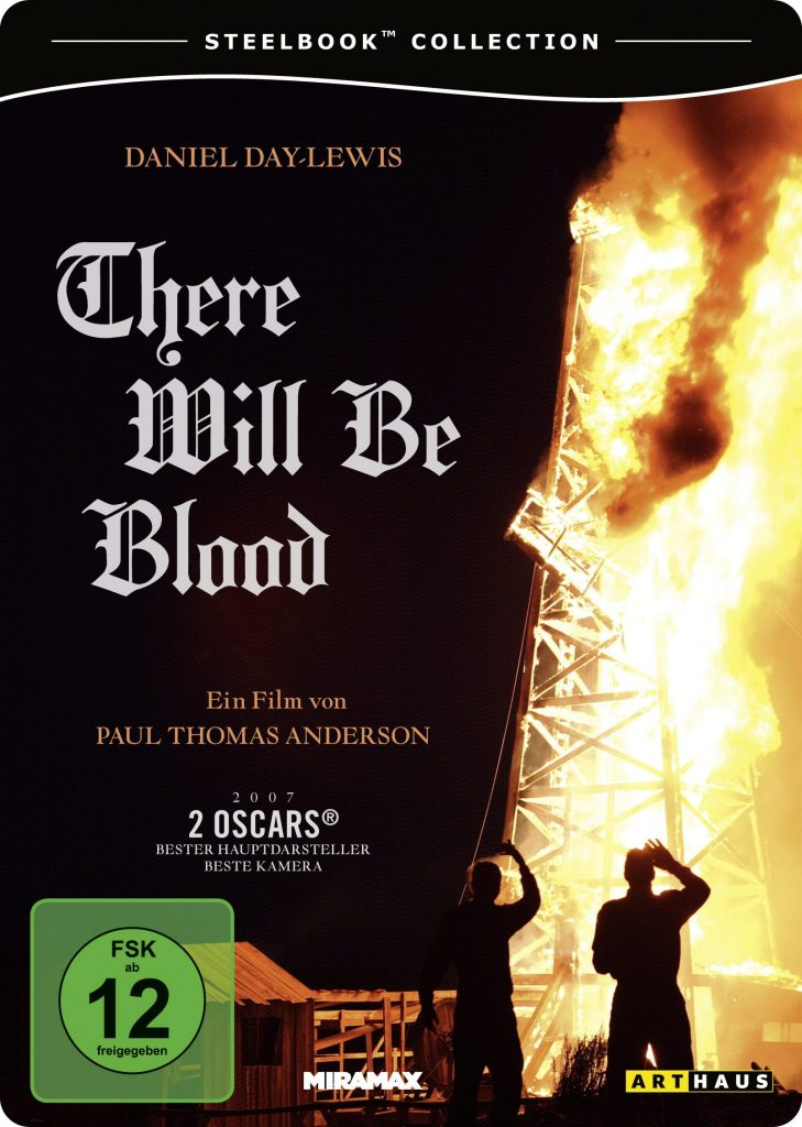 Steelbook-Cover zu There will be Blood von Paul Thomas Anderson