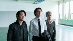 Steven Yeun, Paul Dano und Devon Bostick in Okja