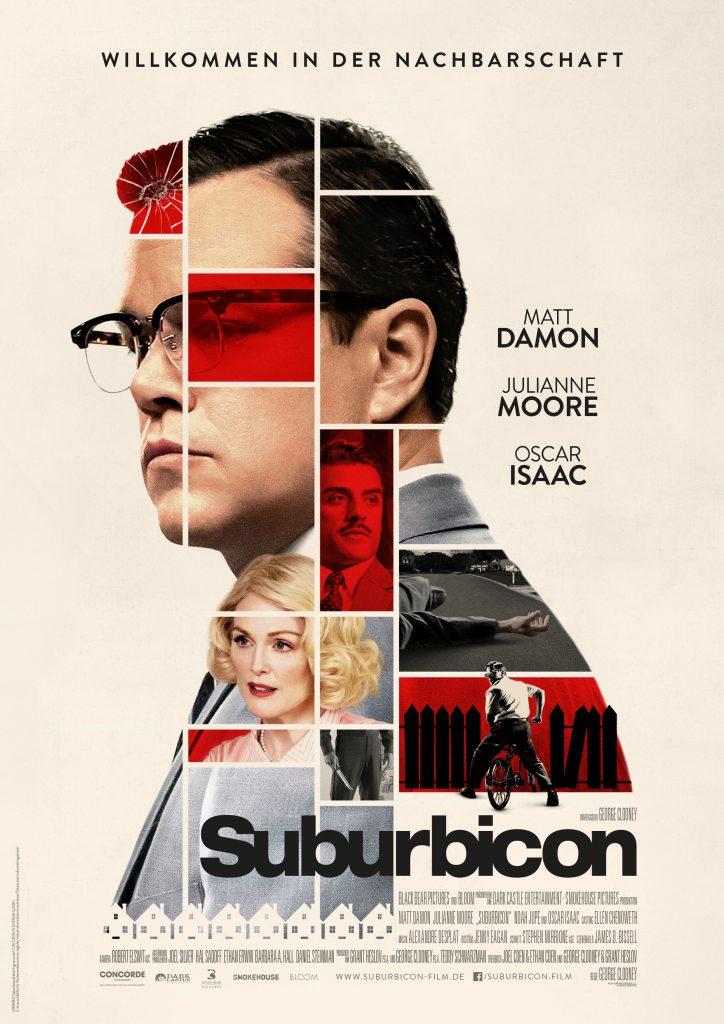 "Filmplakat zu ""Suburbicon"" by Concorde Filmverleih"