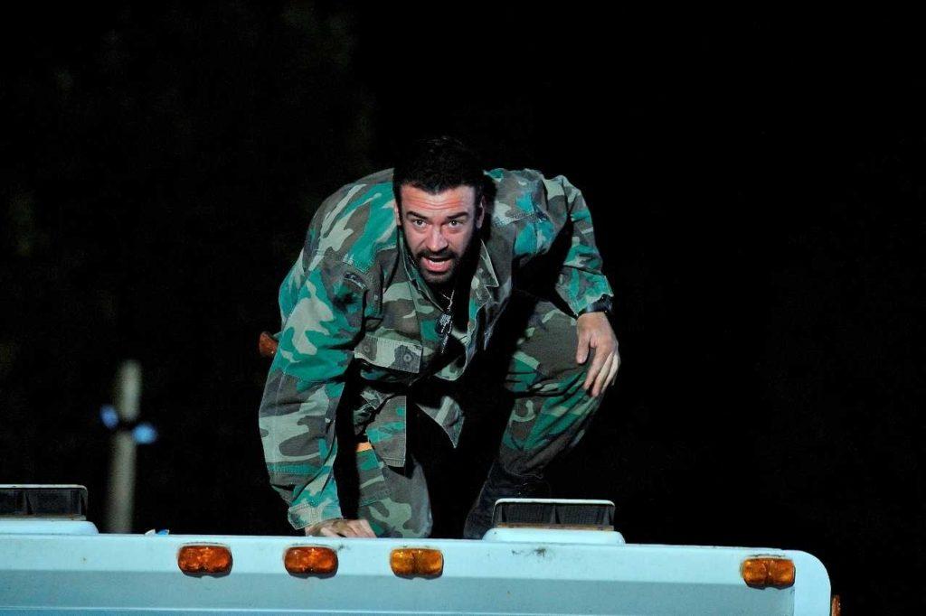 Alan Van Sprang als Sarge in Survival Of The Dead