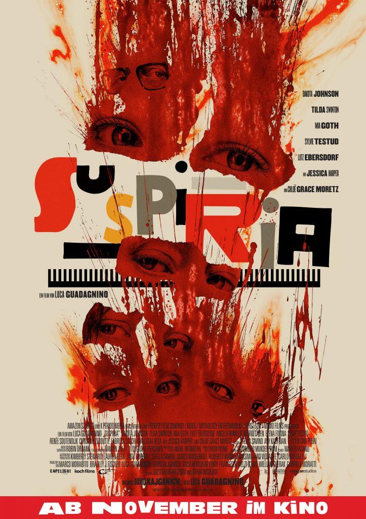 Das offizielle Plakat zu Suspiria mit alternativem Motiv © Amazon Studios