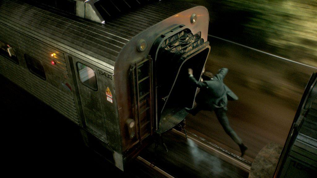 """Michael MacCauley (Liam Neeson) auf gefährlicher Mission im Pendlerzug nach New York; in """"The Commuter"""" ©StudioCanal"""