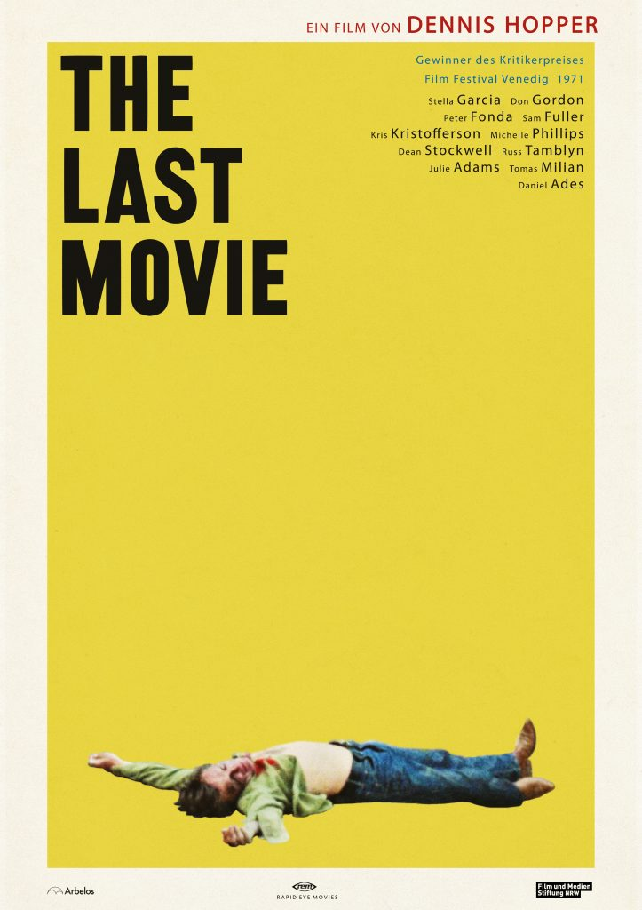 Filmplakat | THE LAST MOVIE © Rapid Eye Movies
