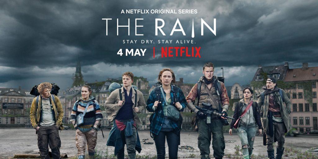 """Teaserplakat zu """"The Rain"""" 2018 ©Netflix"""