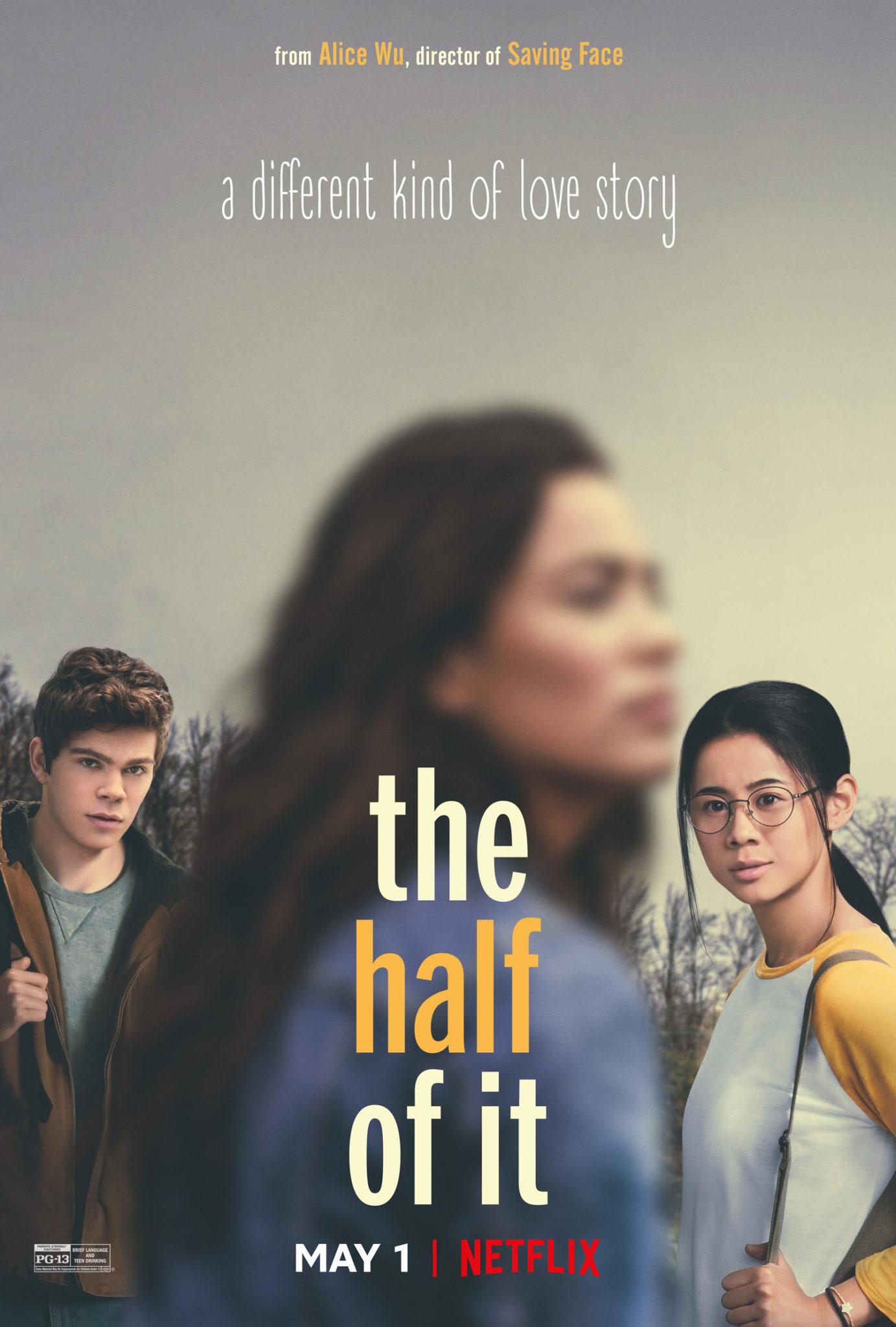 Das Hauptplakat des Netflixfilms Nur die halbe Geschichte