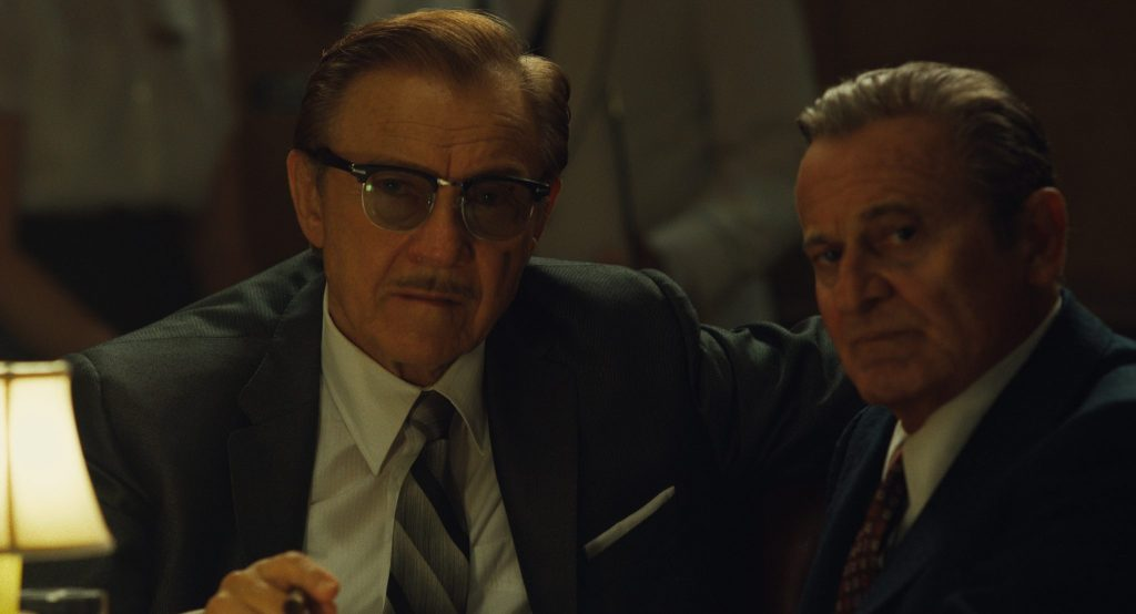 Karvey Keitel und Joe Pesci in The Irishman