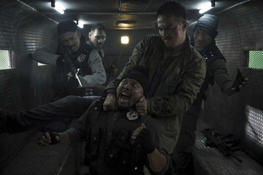 Ito (Joe Taslim) wehrt sich mit allen Mitteln © Netflix