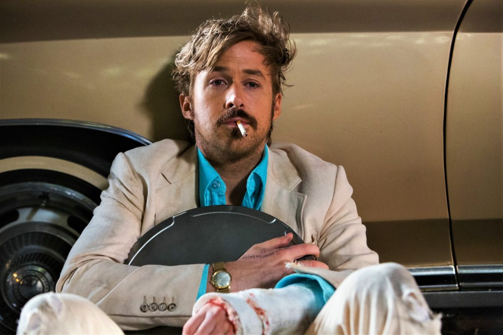 Detective Holland March (Ryan Gosling) ist fix und fertig in The Nice Guys. © Concorde Home Entertainment