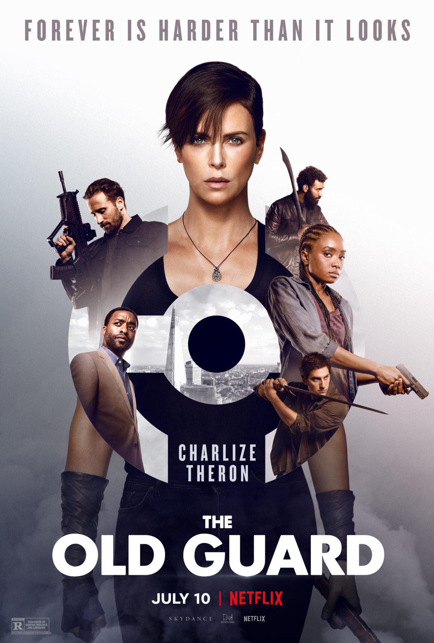 Das Key Art zum Netflixfilm The Old Guard