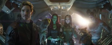Die Guardians müssen mit ran. AVENGERS: INFINITY WAR..L to R: Star-Lord/Peter Quill (Chris Pratt), Groot (voiced by Vin Diesel), Gamora (Zoe Saldana), Mantis (Pom Klementieff), Rocket (voiced by Bradley Cooper) and Drax (Dave Bautista)..Photo: Film Frame..©Marvel Studios 2018