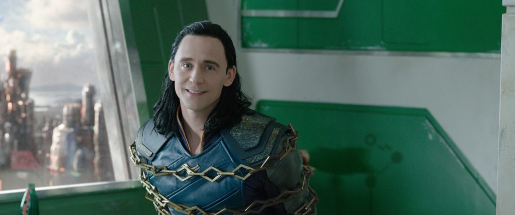 Marvel Studios' THOR: RAGNAROK..Loki (Tom Hiddleston)..Ph: Film Frame..©Marvel Studios 2017