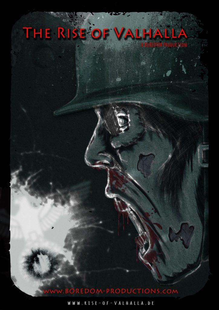 Zombie mit Stahlhelm - Das Filmplakat zu The Rise of Valhalla