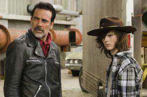 Negan und Carl ©Twentieth Century Fox Home Entertainment