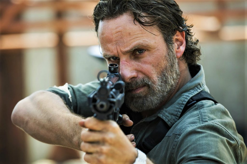 Andrew Lincoln als Rick Grimes in The Walking Dead Staffel 8. © 2018 Twentieth Century Fox Home Entertainment