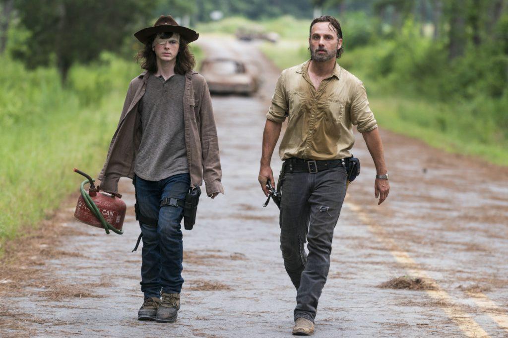Rick und Carl Grimes in The Walking Dead Staffel 8. © 2018 Twentieth Century Fox Home Entertainment
