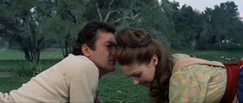 Tony Curtis & Christine Kaufmann in Taras Bulba © Koch Films