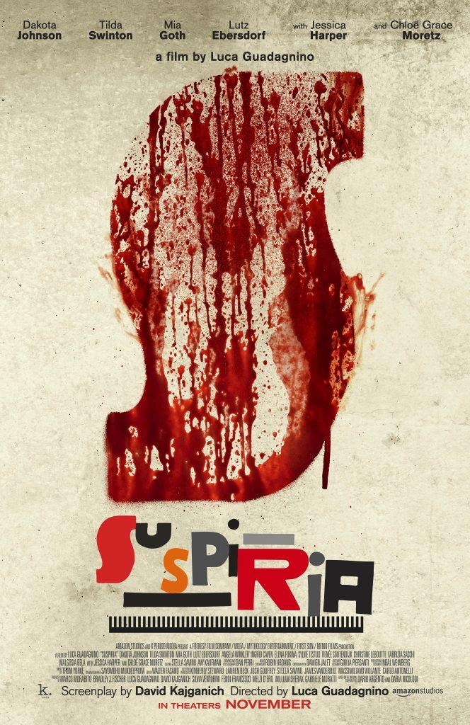 Teaser Plakat Suspiria