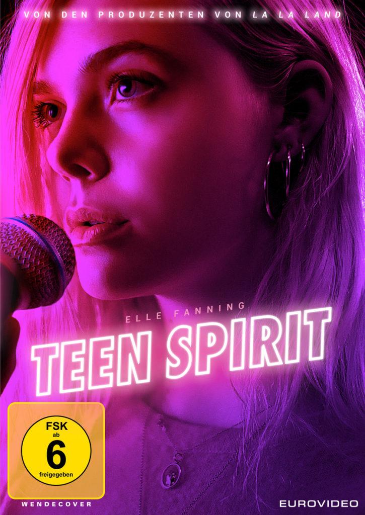 Das offizielle DVD Cover von Teen Spirit.