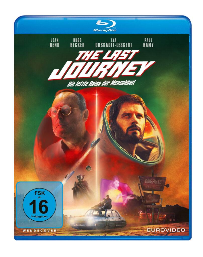Das Cover der Blu-ray von The Last Journey