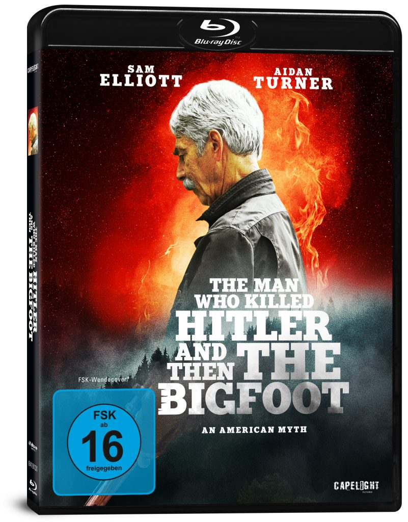Sam Elliott auf dem Cover zu The Man Who Killed Hitler and then the Bigfoot