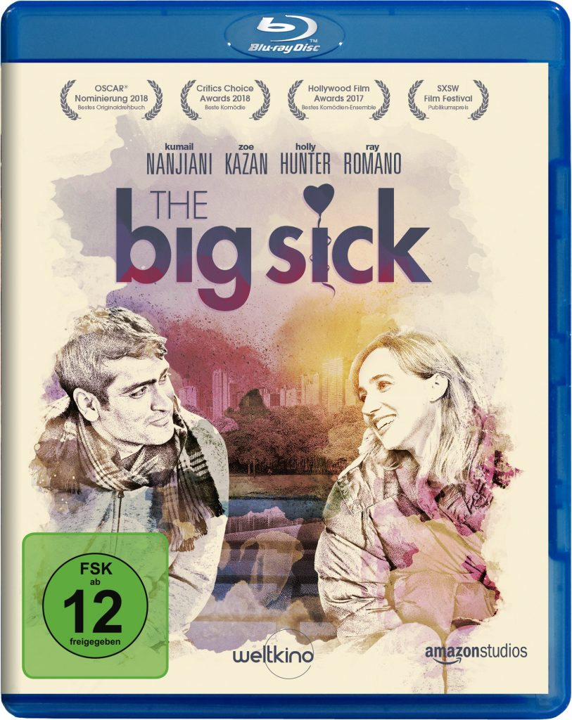 "Blu-ray Cover von ""THE BIG SICK"" © Weltkino Filmverleih"