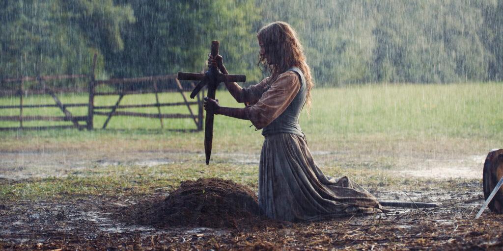 """Grace beerdigt ihren Mann in """"The Reckoning"""""""