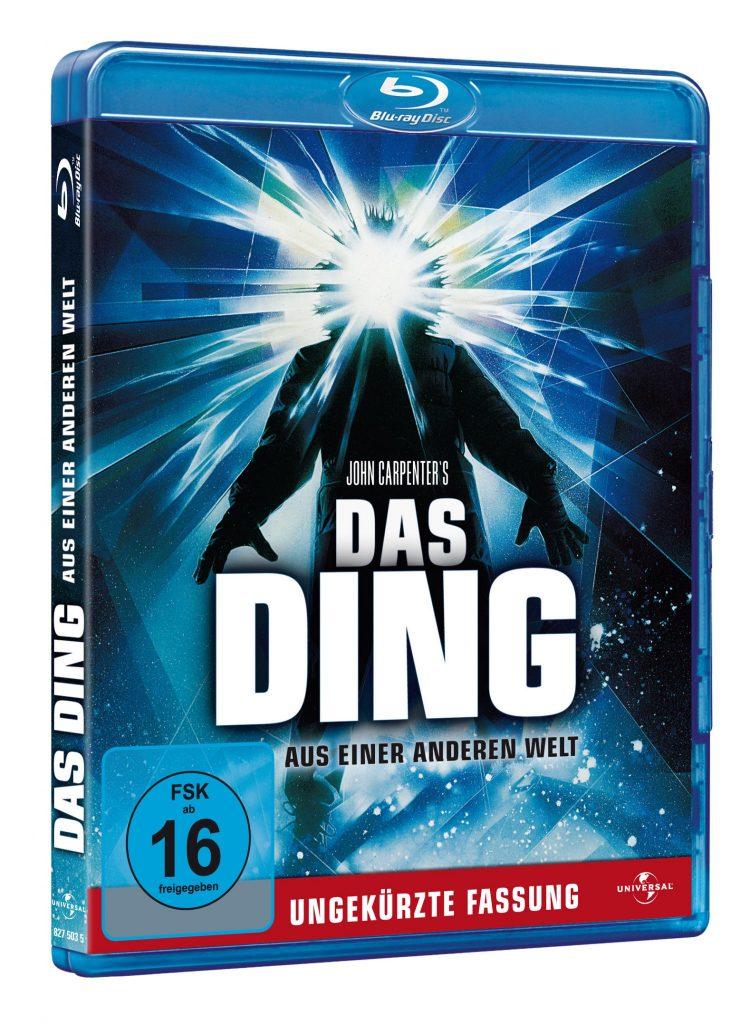 Das Cover der Blu-ray von The Thing