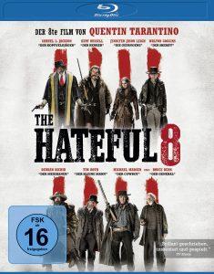 Bluray-Cover von The Hateful Eight aus 2017 von ©Universum Film