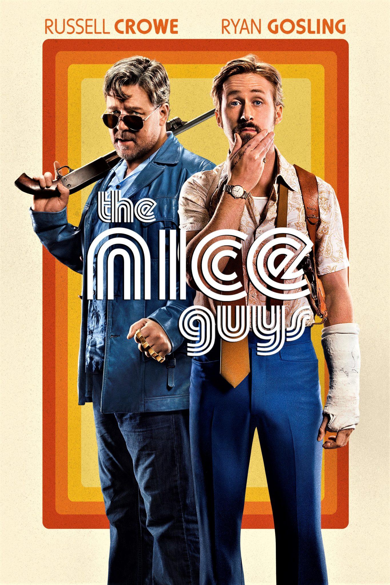 Das offizielle Poster von The Nice Guys - wir wünschen eine Fortsetzung © Concorde Home Entertainment