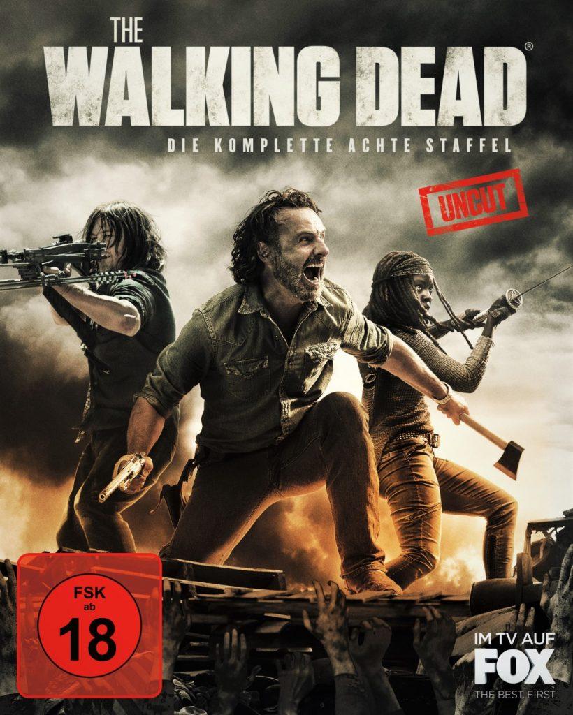 The Walking Dead Staffel 8 - Bluray Cover. © 2018 Twentieth Century Fox Home Entertainment