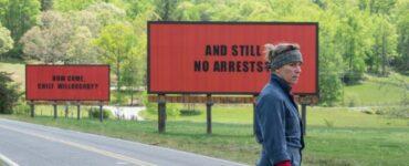 Top-Filme des Jahrzehnts 2010 bis 2019 mit Three Billboards Outside Ebbing, Missouri