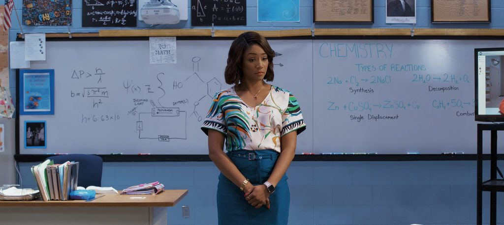 Tiffany Haddish als Lehrerin der Night School, erhältlich auf Bluray & DVD (© Universal Pictures)