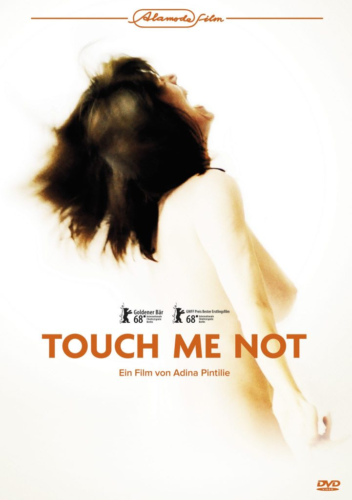 Das DVD Cover von Touch Me Not. © 2019 Alamodefilm