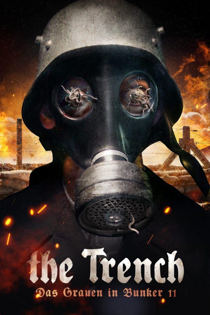 Das Plakat und Cover zu THE TRENCH - DAS GRAUEN IN BUNKER 11 © Tiberius Film
