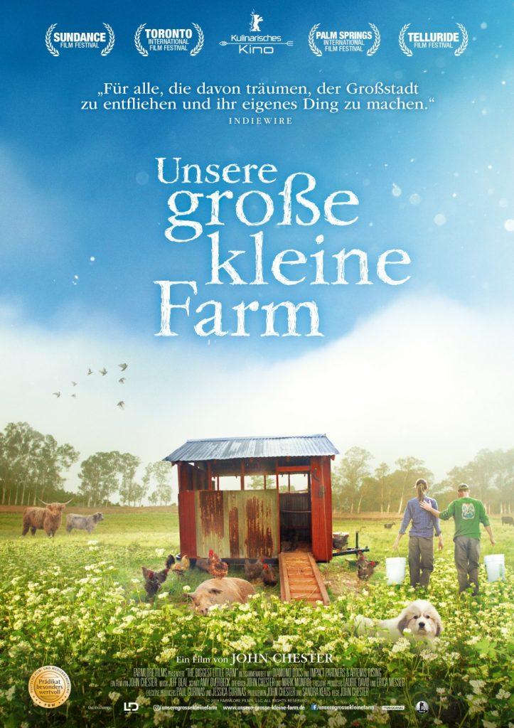 Das Kinoplakat zu Unsere große kleine Farm © 2019 PROKINO Filmverleih GmbH